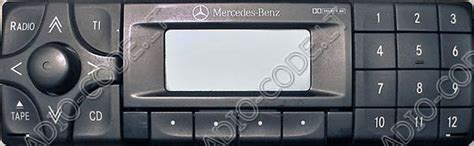 Mercedes Stereo Code by Code 3 Mercedes