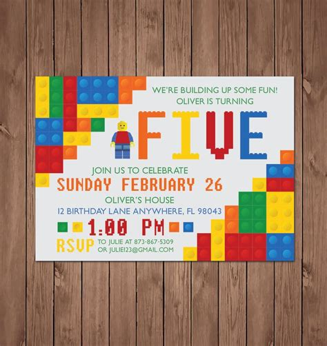 lego invitations template 17 best ideas about lego invitations on lego
