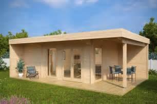 summer house with sauna hansa lounge 22m 178 44mm 8 x