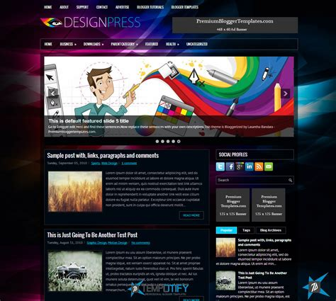themes blogger template black blogger templates
