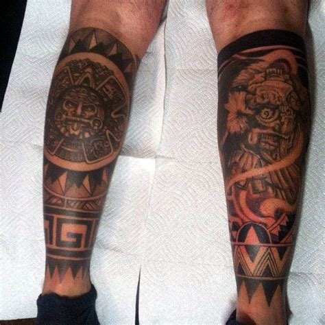 tattoo designs for male legs 125 best aztec designs for