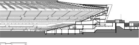 stadium sections a few familiar sections small stadium big landscape