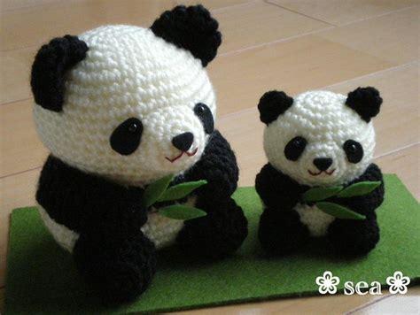 amigurumi panda osos panda amigurumis pagina japonesa amigurumi