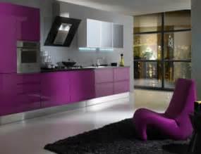 modern furniture purple colors kitchen decor decosee com