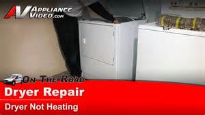 Whirlpool Clothes Dryer Troubleshooting Dryer Repair Not Heating Repair Diagnostic Maytag