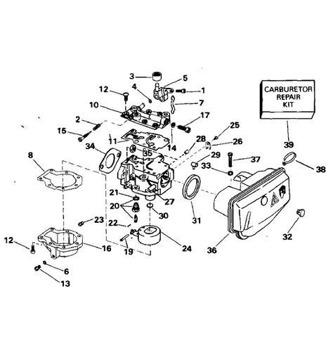 evinrude 15 hp fuel diagram johnson carburetor parts for 1994 15hp j15rere outboard motor