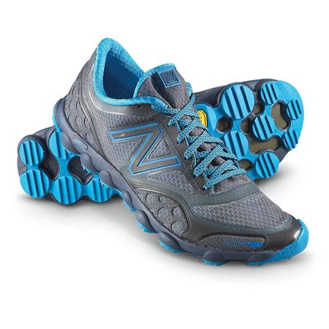 mens new balance boots s new balance mt101gb minimus trail shoes gray blue