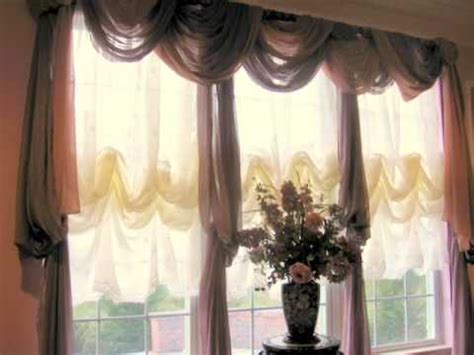 how to hang curtain scarves window scarves that are easy to hang youtube