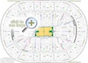 boston td garden seat numbers detailed seating plan
