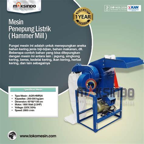 Mesin Tepung mesin pembuat tepung disc mill agrowindo agrowindo