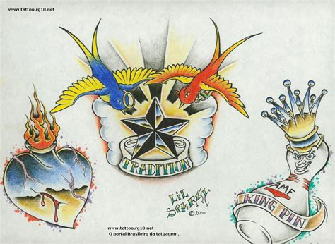 old tattoo designs tatuajes school varios 4
