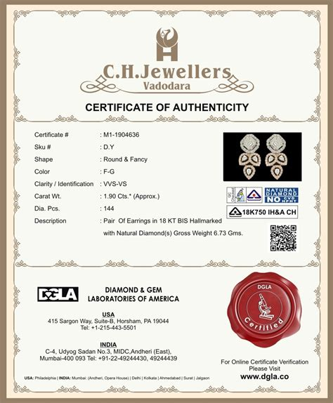 jewelry design certificate programs nyc jewelry certificate of authenticity sle choice image