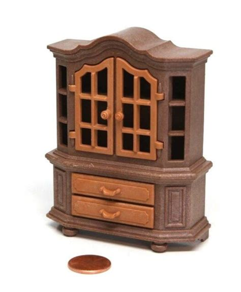 playmobil victorian dollhouse dining room hutch cabinet