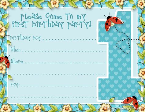 Free Pug Card Template by Birthday Invite Template Birthday Invitation Maker