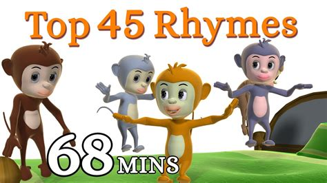 rhymes with bed five little monkeys jumping on the bed nursery rhyme