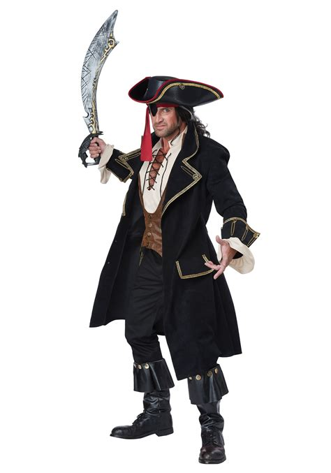 pirate costume deluxe pirate captain costume