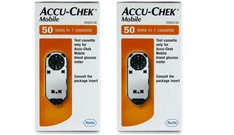mobile test cassette accu chek mobile test cassettes diabetes shop