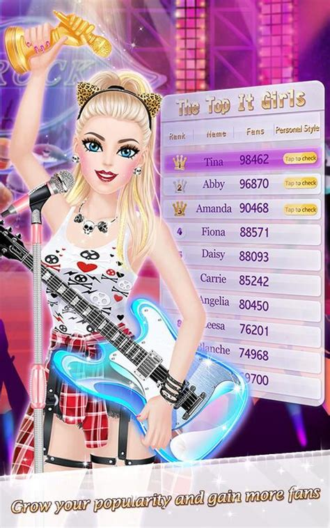 celebrity games apps for android it girl fashion celebrity dress up game for android