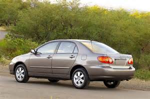 2004 Toyota Recalls 2004 Toyota Corolla Specs Pictures Trims Colors Cars