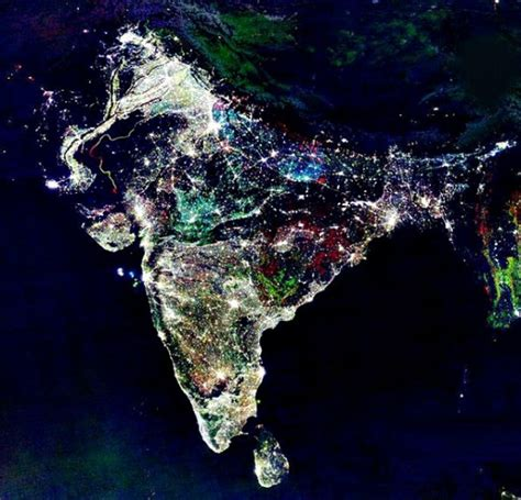 india diwali can you see lights of diwali from space earth earthsky