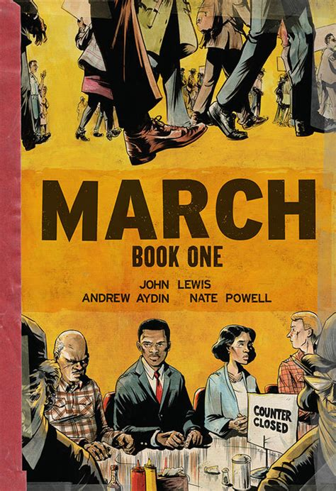 march trilogy slipcase set march book one hardcover top shelf productions