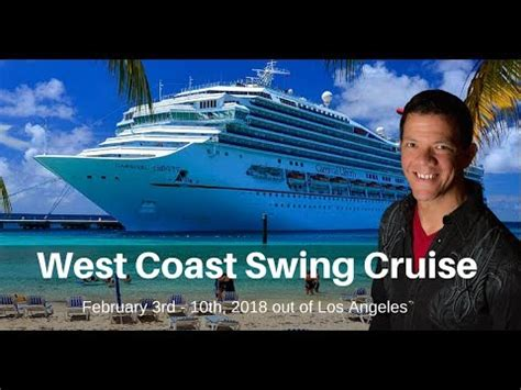 west coast swing count want to wcs on a cruise wcs country dance cruise