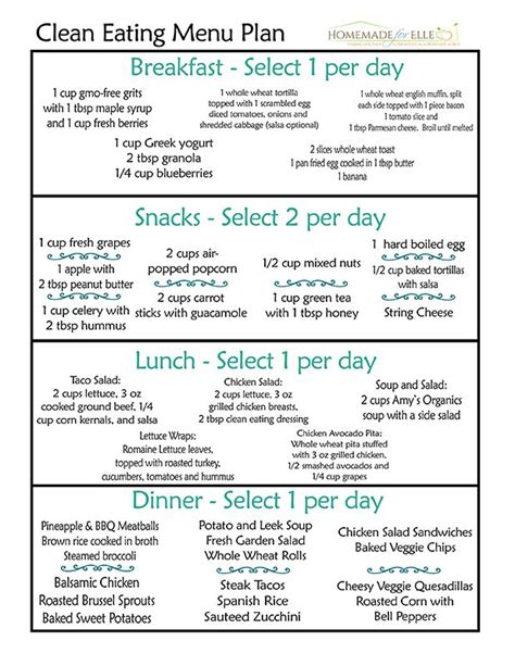 Detox Diet Menu by 1 Month Detox Diet Plan Menu Completenews