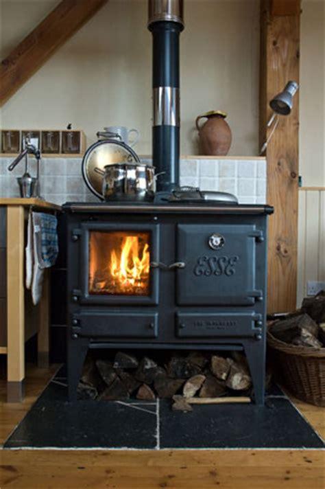Wood Burning Kitchen Stove by Straw Bale Ironheart