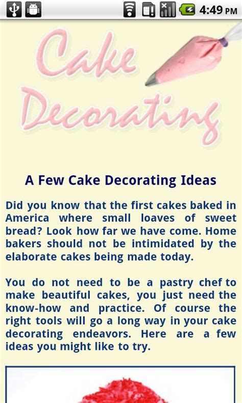decorating advice cake decorating tips android apps on google play