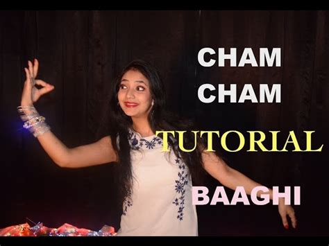 tutorial dance download cham cham dance tutorial part 1 lessons video baaghi tiger