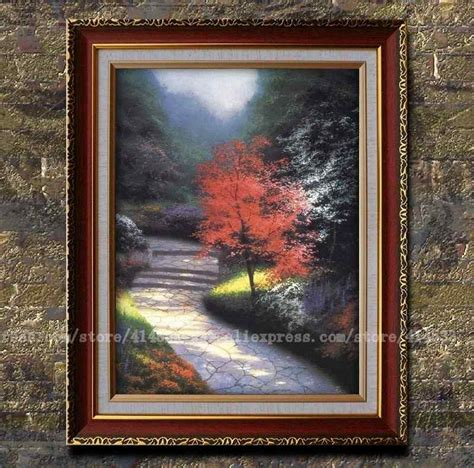 prints of kinkade painting afternoon light