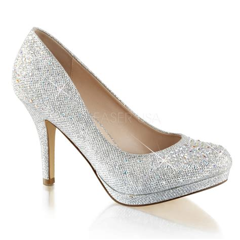 New Heels Silver Black silver vintage wedding low heels ballroom swing 40s