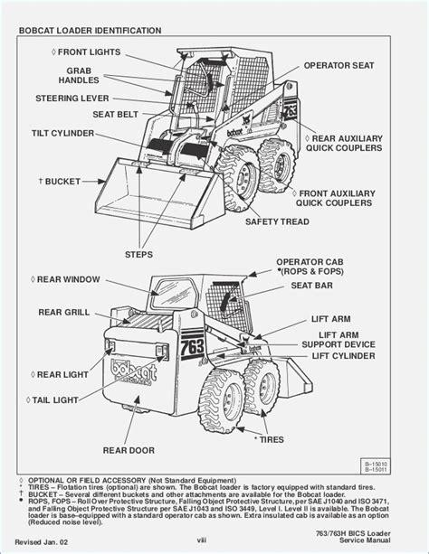 bobcat 7753 wiring diagram alternator v2203 wiring