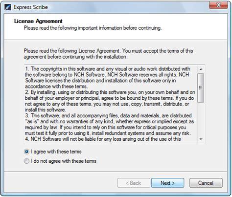 express scribe installation running tutorial