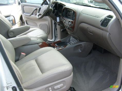 Toyota Sequoia Interior Colors by 2005 Toyota Sequoia Limited 4wd Interior Photos Gtcarlot