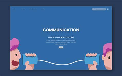 communication  vectors stock  psd