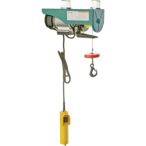 grizzly h0778 electric hoist 3 4 hp 110 volt lowes home