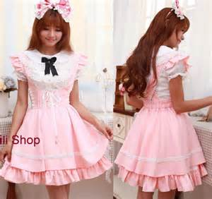 pink and lavender clothing for kawaii pastel style
