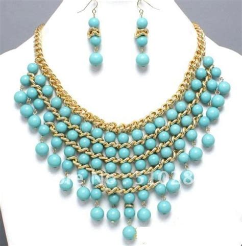 bead necklace designs which turquoise bead necklace to wear with 8526