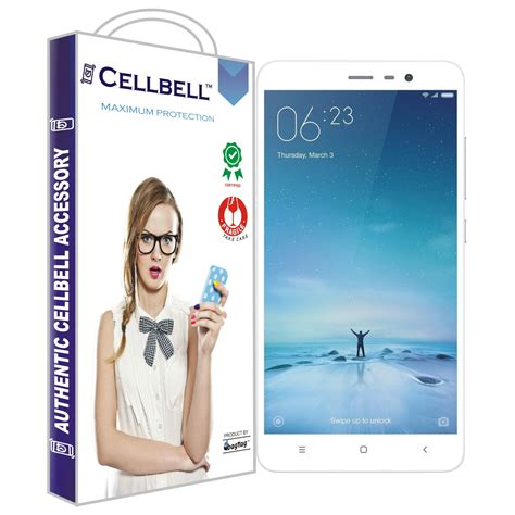 Xiaomi Redmi Note 3 Tempered Glass Edition Colour Premium xiaomi redmi note 3 tempered screen glass cellbell