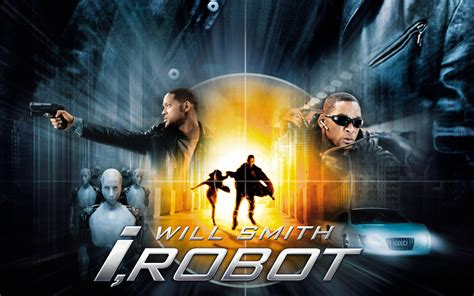 robot film wallpaper will smith i robot wallpapers hd wallpapers id 10003