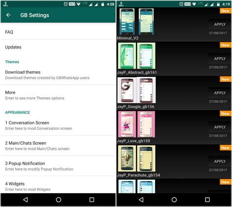 gbwhatsapp themes download gbwhatsapp themes apk needs