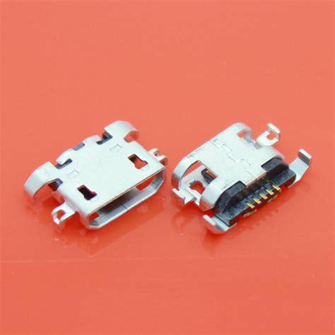 Flexibelflexible Konektor Charger Lenovo A850 100pcs lot micro 5pin usb connector charging port for lenovo a830 a850 s820 a780 a670t a590 a800