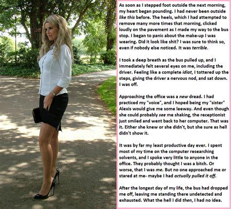 forced feminization on crossdressercaptions deviantart high heeled mistake part 3 by alixtg on deviantart my