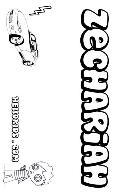 coloring page for zechariah zechariah coloring pages hellokids