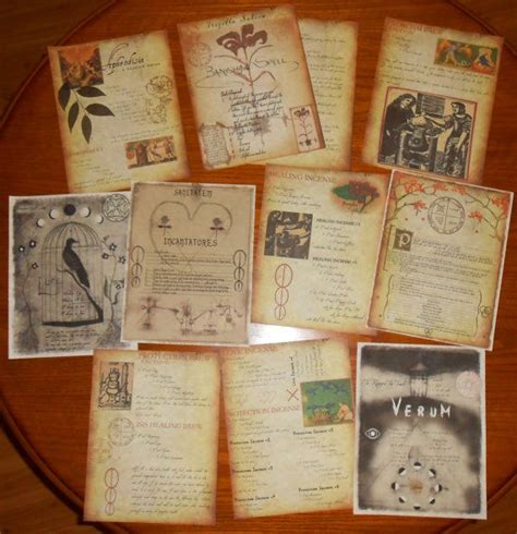 libro the magic of reality practical magic spell pages loose pages brujo