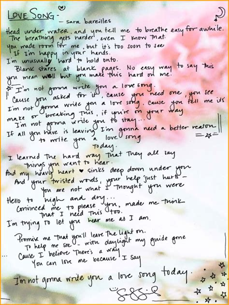 song by bareilles song lyrics quotes