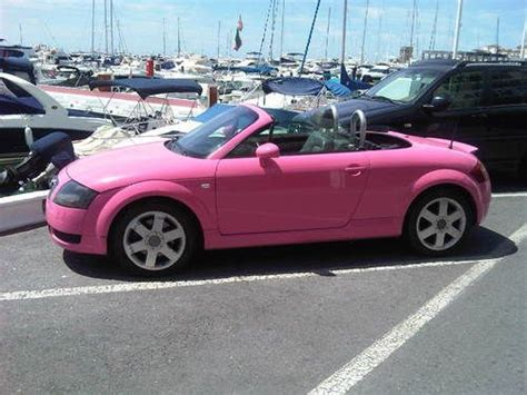 pink convertible cars sell used 2001 audi tt pink convertible in maytown