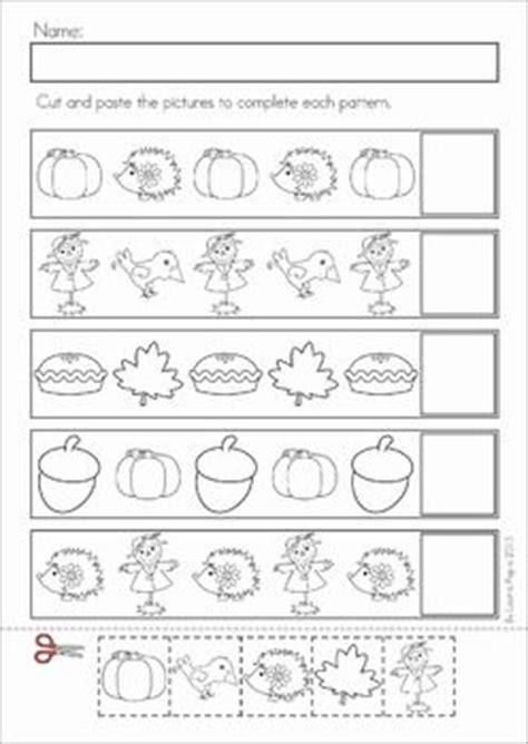 fall pattern worksheets for kindergarten fall pattern worksheets for preschool what color es next