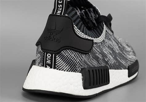 Sepatu Adidas Nmd Black White Anmd Bw adidas nmd pk runner black white sneakernews